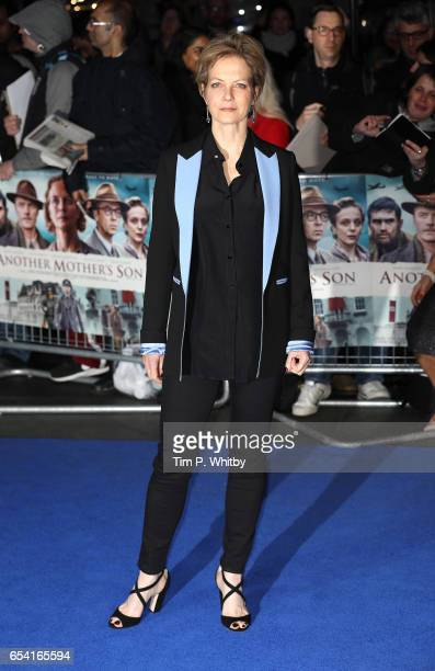 Jenny Seagrove attends the World Premiere of 'Another Mother's Son' on March 16 2017 at Odeon Leicester Sqaure in London England