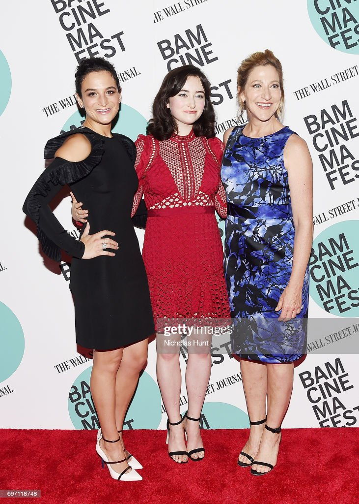 Jenny Slate, Abby Quinn and Edie Falco attend the 'Landline' New York screening during the BAMcinemaFest 2017 at BAM Harvey Theater on June 17, 2017 in New York City.