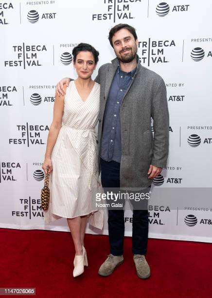 Jenny Slate and Ben Shattuck attend the 'Earth Break: A Few Suggestions For Survival, With Additional Hints And Tips About How To Make Yourself More...