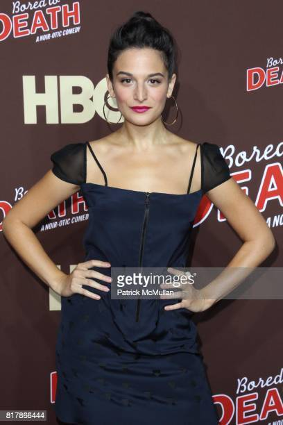 Jenny Slate attends HBO Presents the Season Premiere of BORED TO DEATH at NYU Skirball Center on September 21 2010 in New York City