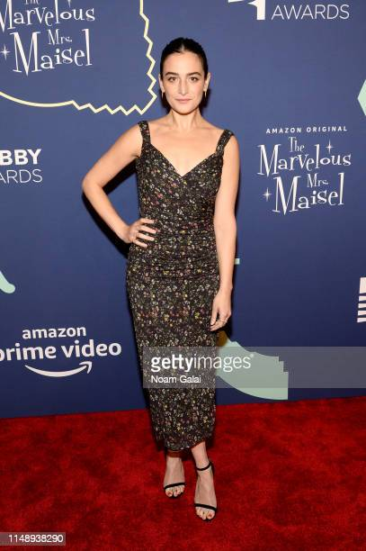 Jenny Slate attends The 23rd Annual Webby Awards on May 13 2019 in New York City