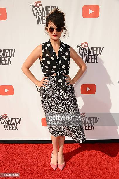 Jenny Slate attends The Big Live Comedy Show presented by YouTube Comedy Week held at Culver Studios on May 19 2013 in Culver City California