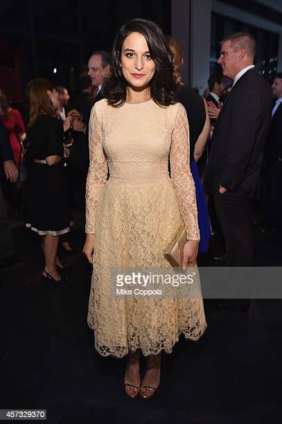 Jenny Slate attends the God's Love We Deliver Golden Heart Awards on October 16 2014 in New York City
