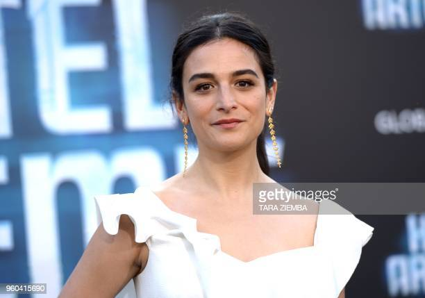 Jenny Slate attends the Los Angeles premiere of 'Hotel Artemis' on May 19, 2018 in Westwood Village, California.