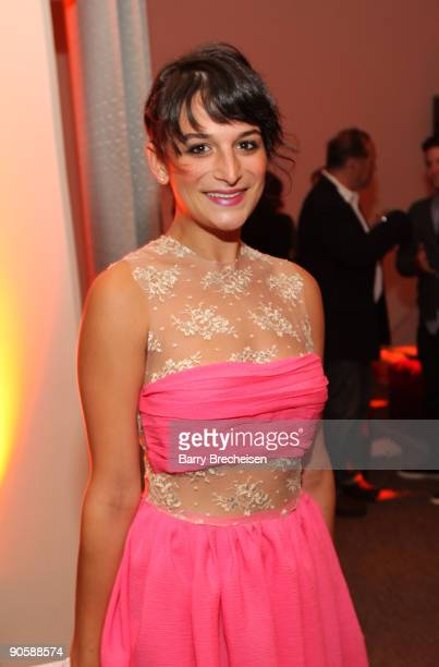 "Jenny Slate attends the premiere of HBO's ""Bored to Death"" at the Clearview Chelsea Cinemas on September 10, 2009 in New York City."