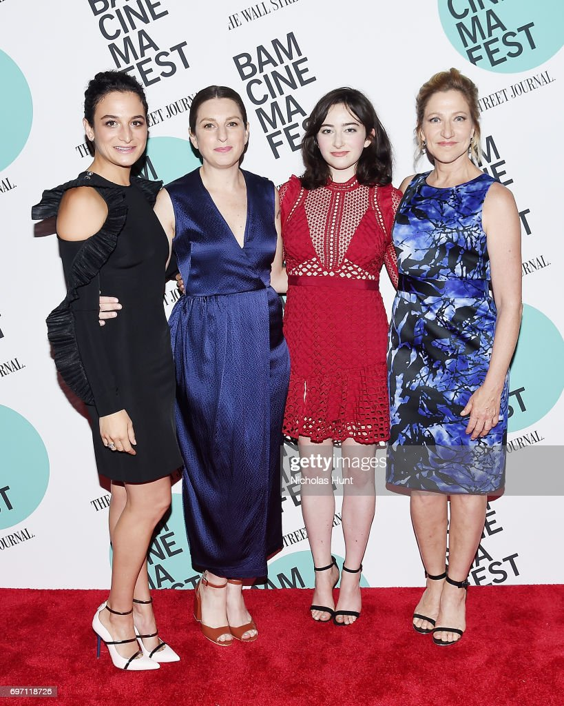 Jenny Slate, Director Gillian Robespierre, Abby Quinn and Edie Falco attend the 'Landline' New York screening during the BAMcinemaFest 2017 at BAM Harvey Theater on June 17, 2017 in New York City.