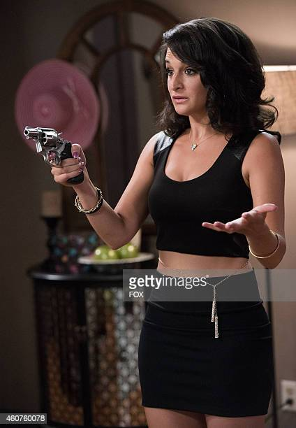 "Jenny Slate in the ""Undercover"" episode of BROOKLYN NINE-NINE airing Sept. 28, 2014 on FOX."