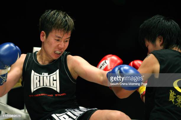 Jenny So Mingwai from The Ring Vs Wong Chishan from Wong Ping Ki at the Queen Elizabeth Stadium 18 Oi Kwan Road Wan Chai Jenny So winner of the...