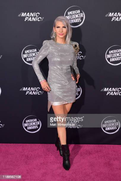 Jenny Strebe attends the 2nd Annual American Influencer Awards at Dolby Theatre on November 18 2019 in Hollywood California