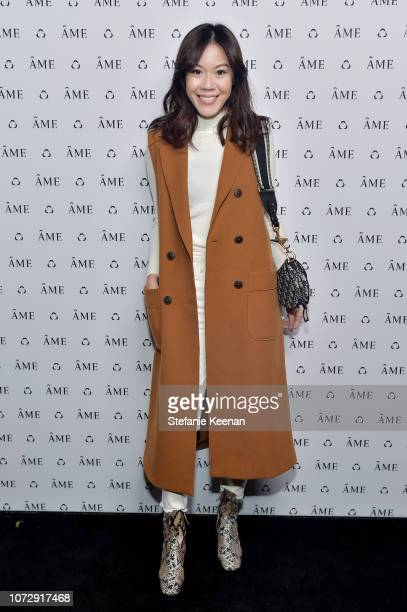 Jenny Tsang attends Áme Jewelry Launch Event on December 13 2018 in Los Angeles California