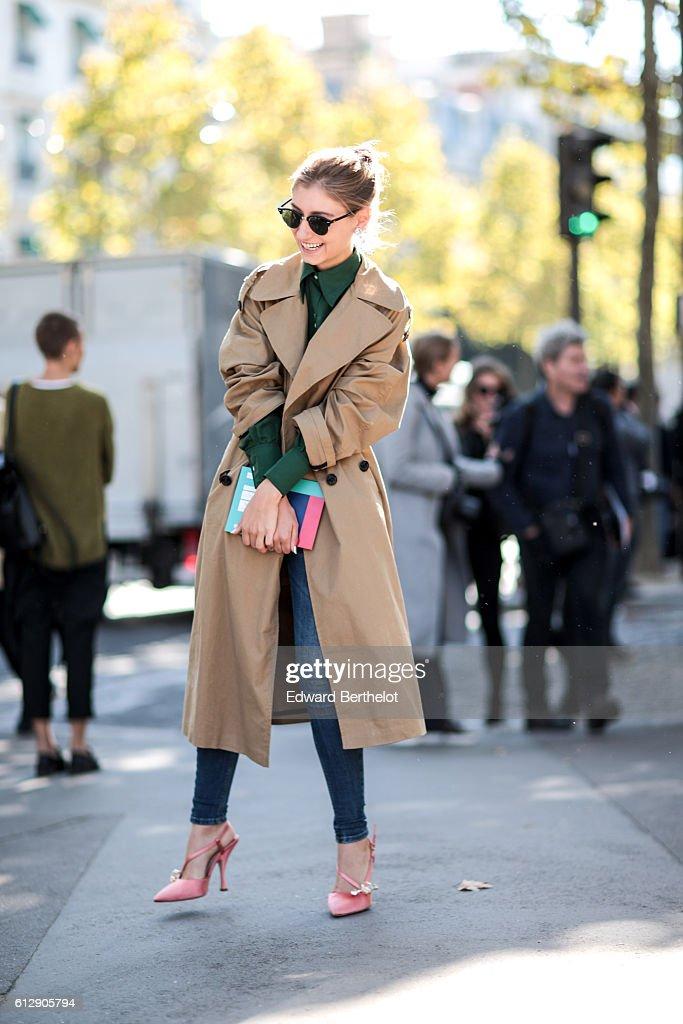 Street Style : Day Nine  - Paris Fashion Week Spring/Summer 2017 : ニュース写真