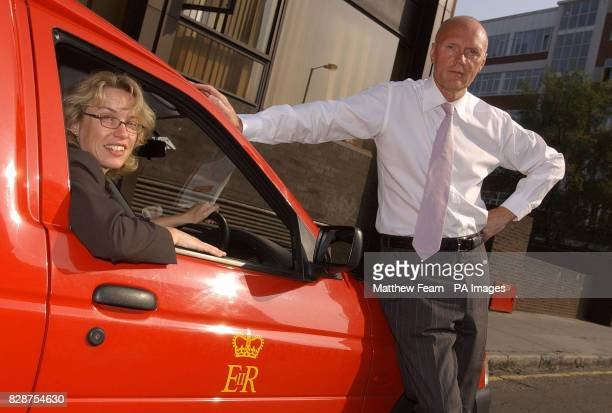 Jenny Watson Deputy Chair of the Equal Opportunities Commission with Royal Mail chairman Allan Leighton in London A major investigation into...
