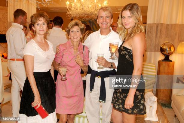 Jenny Wright Dianne Avery Ray Kennedy and Chelsea Wick attend 2010 Hampton Designer Showhouse Kickoff Party hosted by HB Home at HB Home on July 10...