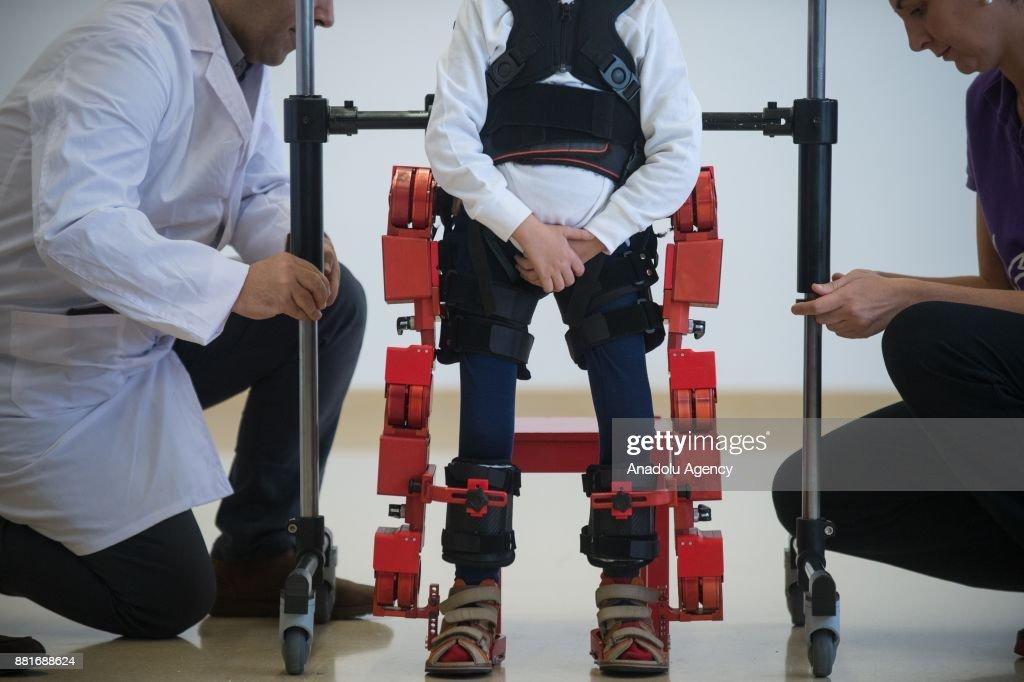 Marsi Bionics exoskeleton designed for children : News Photo