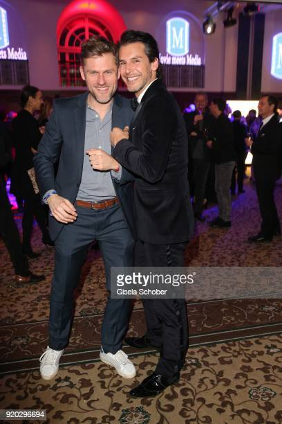 Jens Atzorn and Florian Odendahl during the Movie Meets Media MMM event on the occasion of the 68th Berlinale International Film Festival at Hotel...