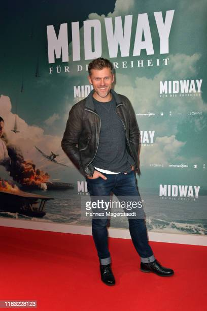 Jens Atzorn attends the photo call for the special screening of Midway Fuer die Freiheit at Astor Filmlounge on October 24 2019 in Munich Germany