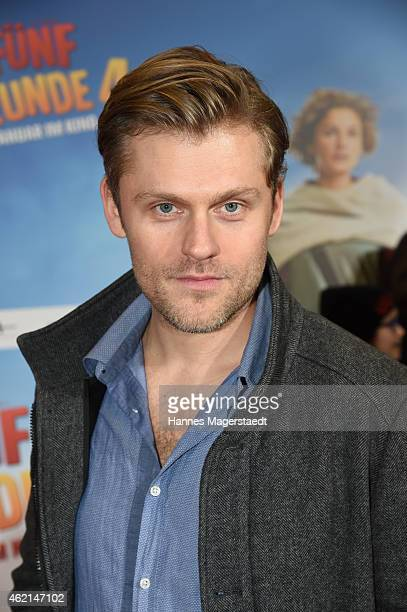 Jens Atzorn attends the premiere of the film 'Fuenf Freunde 4' at Cinemaxx on January 25 2015 in Munich Germany