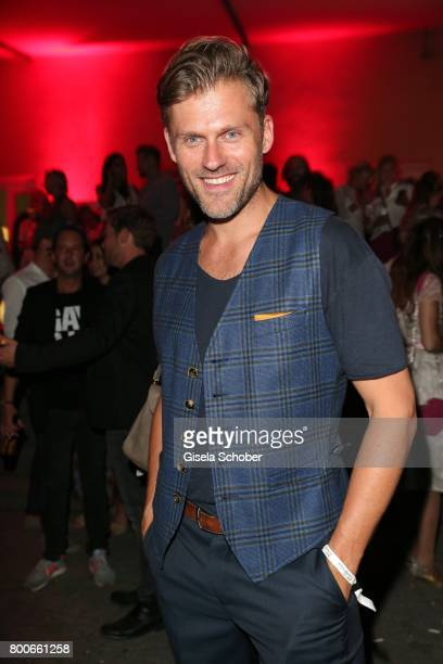Jens Atzorn son of Robert Atzorn during the 'Audi Director's cut' Party during the Munich film festival at Praterinsel on June 24 2017 in Munich...