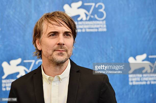 Jens Harzer attends a photocall for 'Les Beaux Jours D'Aranjuez' during the 73rd Venice Film Festival at Palazzo del Casino on September 1 2016 in...