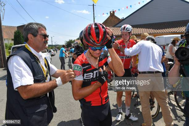 Jens Keukeleire of Belgium and Team Lotto Soudal / Richie Porte of Australia and BMC Racing Team / Crash / Injury / Doctor / Medical / Abandon /...