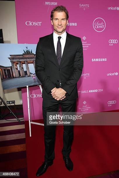 Jens Lehmann attends the CLOSER Magazin Hosts SMILE Award 2014 at Hotel Vier Jahreszeiten on November 4, 2014 in Munich, Germany.