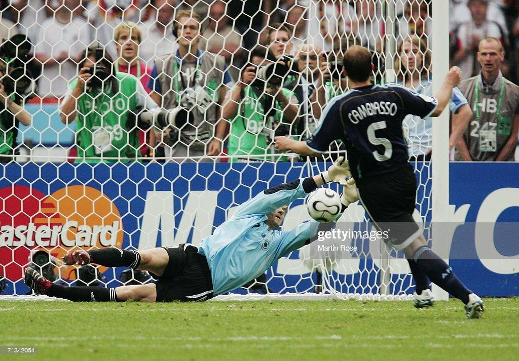 Quarter-final Germany v Argentina - World Cup 2006 : Nachrichtenfoto