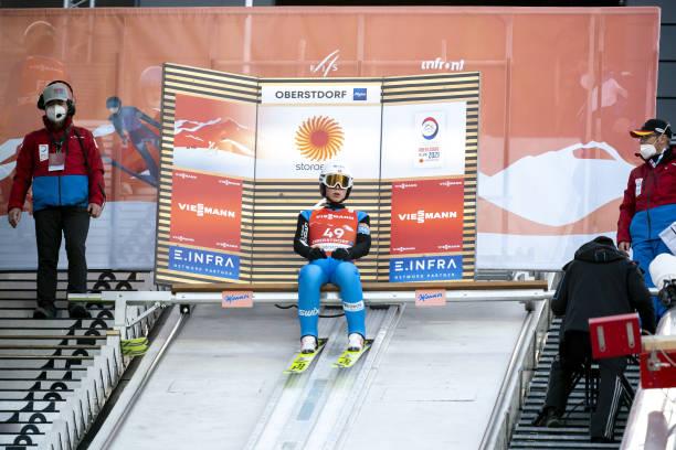 DEU: FIS Nordic World Ski Championships Oberstdorf - Men's Ski Jumping HS106 Q
