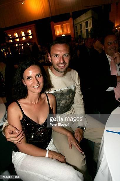 """Jens Nowotny, Ehefrau Michaela, Abschlußfeier zu den 15. """"Gerry Weber Open"""", Halle, Westfalen, Nordrhein-Westfalen, Deutschland, Europa, ATP..."""