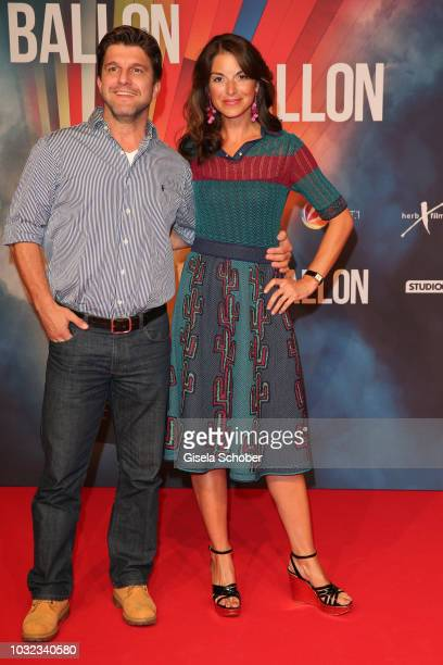 Jens Nuenemann and Bianca Hein during the premiere of the film 'Ballon' at Mathaeser Filmpalast on September 12, 2018 in Munich, Germany.