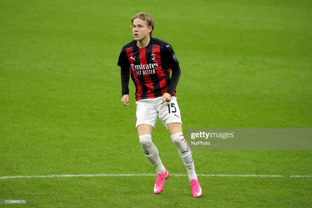 Jens Petter Hauge Of Ac Milan In Action During The Serie A Match News Photo Getty Images