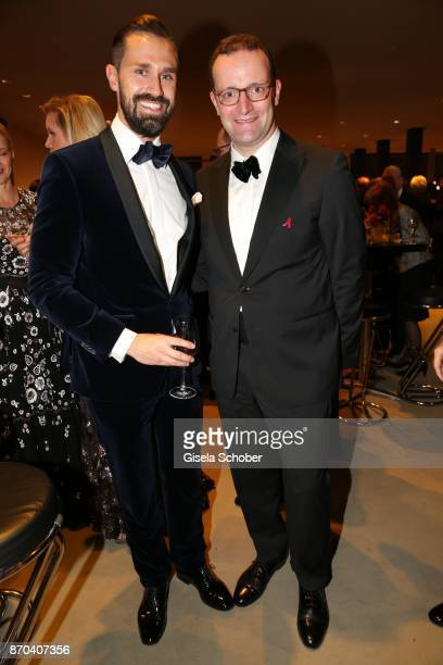 Jens Spahn and his husband Daniel Funke during the 24th Opera Gala benefit to Deutsche AidsStiftung at Deutsche Oper Berlin on November 4 2017 in...