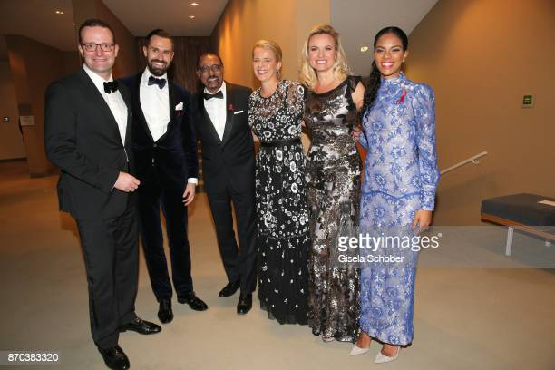Jens Spahn and his husband Daniel Funke Michel Sidibe Unaids Executive Director IKH Princess Mabel von OranienNassau Mabel Wisse Smit widow of Prince...