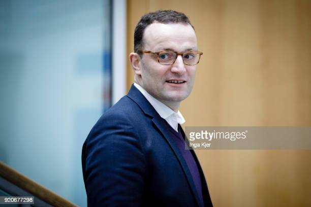 Jens Spahn CDU on February 19 2018 in Berlin Germany