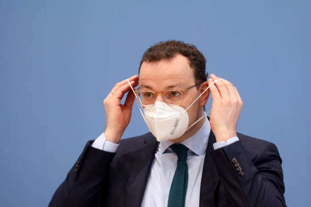 DEU: Germany's Health Minister Jens Spahn Gives Coronavirus Update