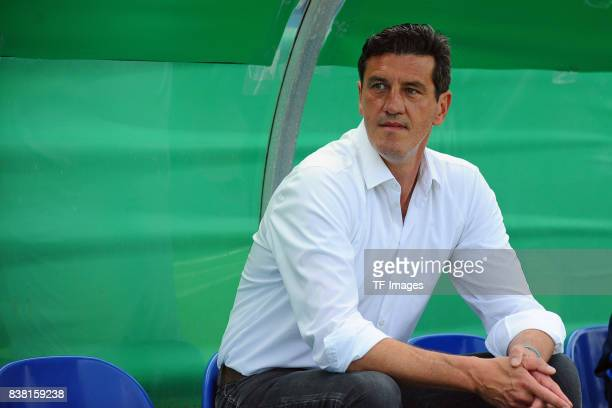 Jens Todt of Hamburg during the DFB Cup match between VfL Osnabrueck and Hamburger SV at Osnatel Arena on August 13 2017 in Osnabrueck Germany