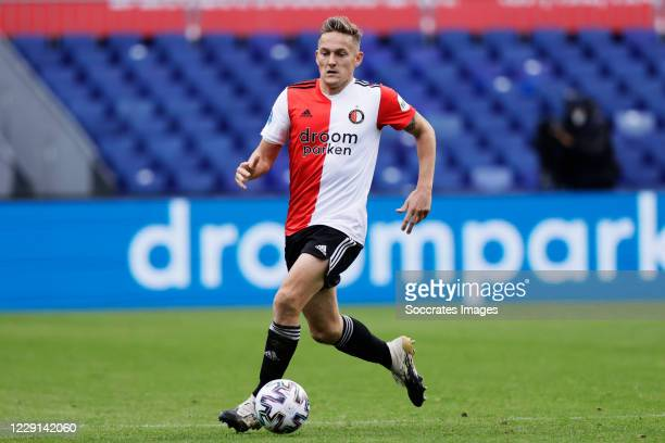 Jens Toornstra of Feyenoord during the Dutch Eredivisie match between Feyenoord v Sparta at the Stadium Feijenoord on October 18 2020 in Rotterdam...