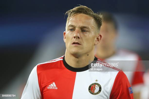 Jens Toornstra of Feyenoord during the UEFA Champions League group F match between Feyenoord Rotterdam and Manchester City at the Kuip on September...