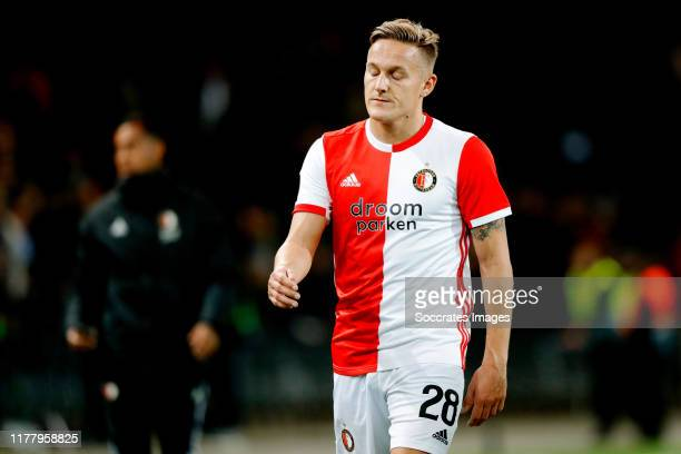 Jens Toornstra of Feyenoord during the UEFA Europa League match between BSC Young Boys v Feyenoord at the Stade de Suisse on October 24, 2019 in Bern...