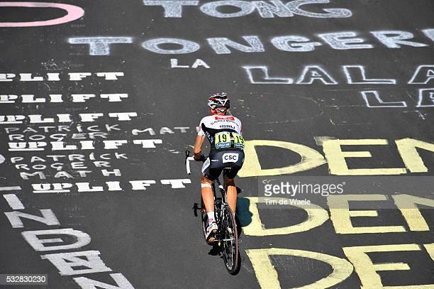 Jens Voigt during stage 17 of the 2008 Tour de France between Embrun and L'AlpeD'Huez