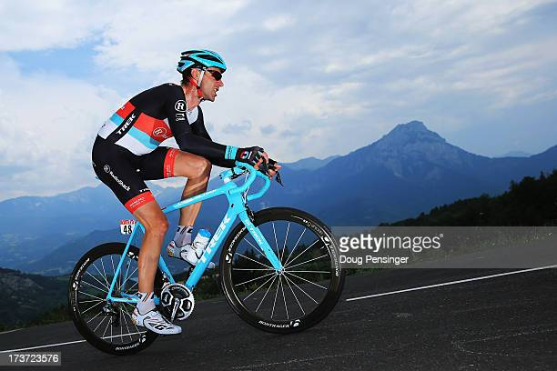 Jens Voigt of Germany and Team Radioshack Leopard rides during stage seventeen of the 2013 Tour de France, a 32KM Individual Time Trial from Embrun...