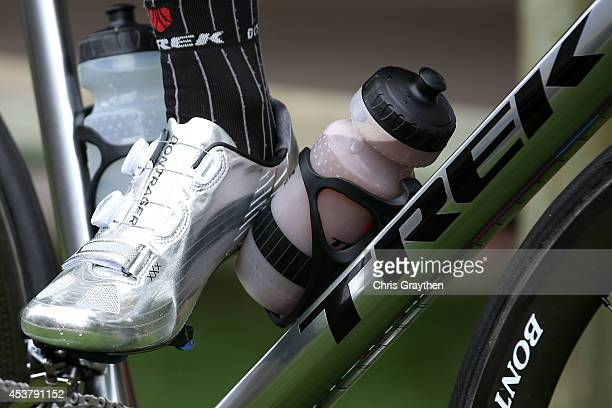 Jens Voigt of Germany riding for Trek Factory Racing poses for a photo prior to stage one of the 2014 USA Pro Challenge on August 18 2014 in Aspen...
