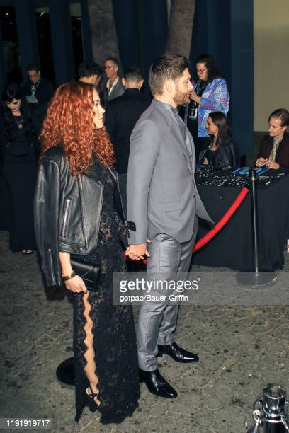 Jensen Ackles and Danneel Ackles are seen on January 04 2020 in Los Angeles California