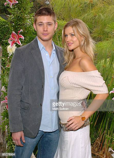Jensen Ackles and Joanna Krupa