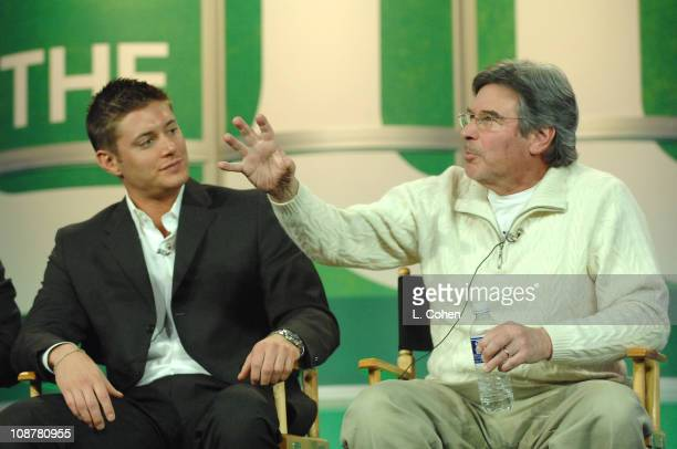 Jensen Ackles and Robert Singer Executive Producer of 'Supernatural'