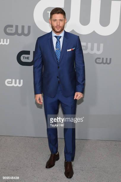 Jensen Ackles attends the 2018 CW Network Upfront at The London Hotel on May 17 2018 in New York City