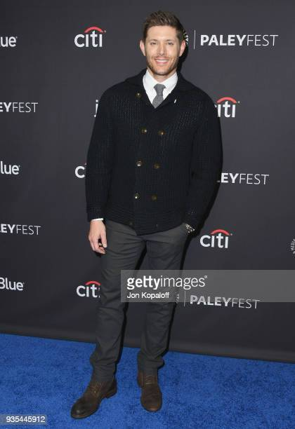 Jensen Ackles attends the 2018 PaleyFest Los Angeles CW's 'Supernatural' at Dolby Theatre on March 20 2018 in Hollywood California