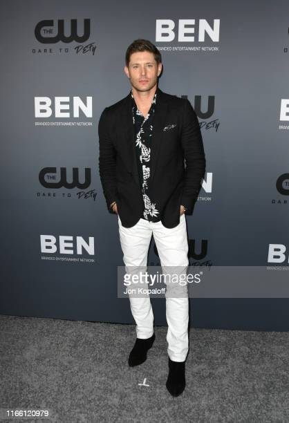 Jensen Ackles attends The CW's Summer 2019 TCA Party sponsored by Branded Entertainment Network at The Beverly Hilton Hotel on August 04 2019 in...