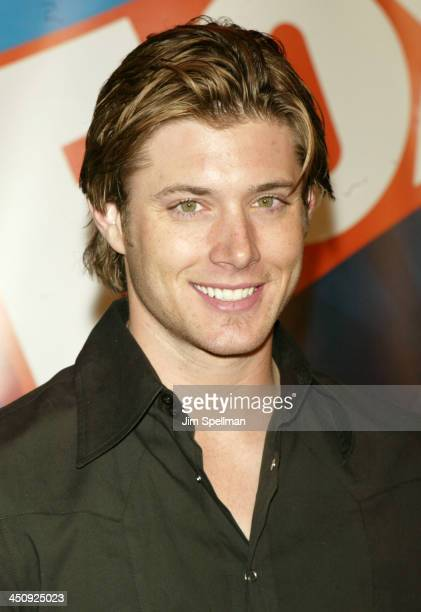 Jensen Ackles during 20032004 FOX Upfront After Party at Grand Central Terminal in New York City New York United States