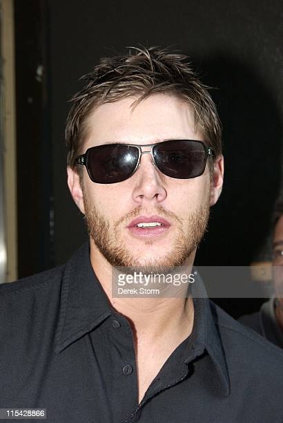 Jensen Ackles during Jared Padalecki and Jensen Ackles Appear on the WB11 Morning News May 18 2006 at WB Station in New York City New York United...