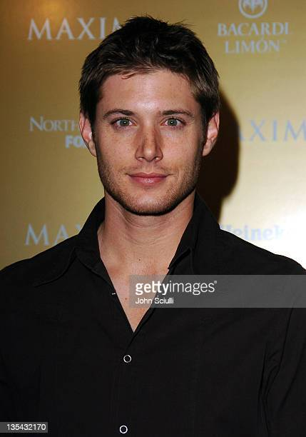 Jensen Ackles during Maxim Magazine Hot 100 Party in Celebration of the Grand Opening of Body English In the Hard Rock Hotel Casino Red Carpet at...